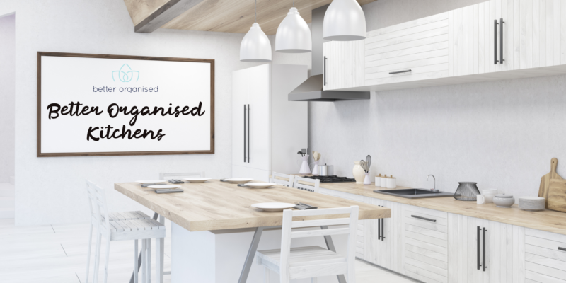 Benefits of better organised kitchens