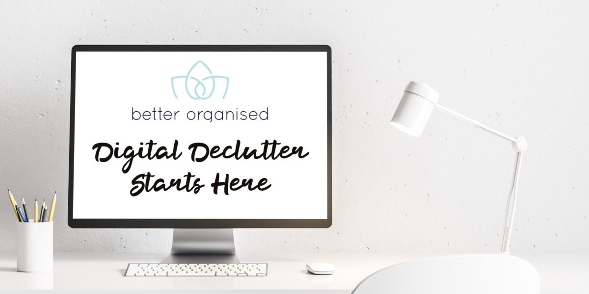 digital declutter