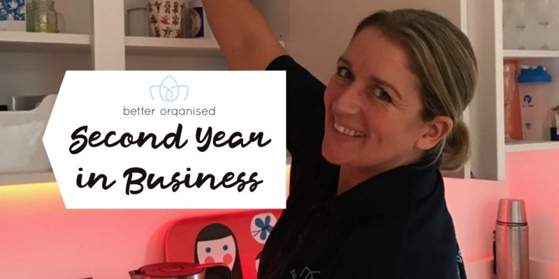 Better Organised Second Year in Business
