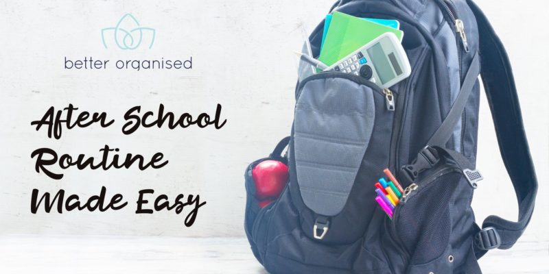 after school routine made easy