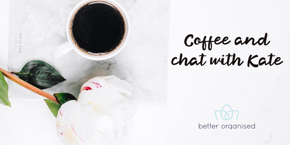coffee and chat better organised