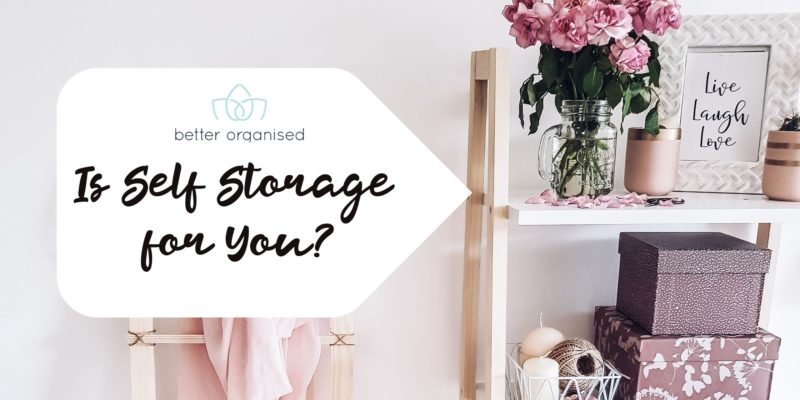 is self storage for you