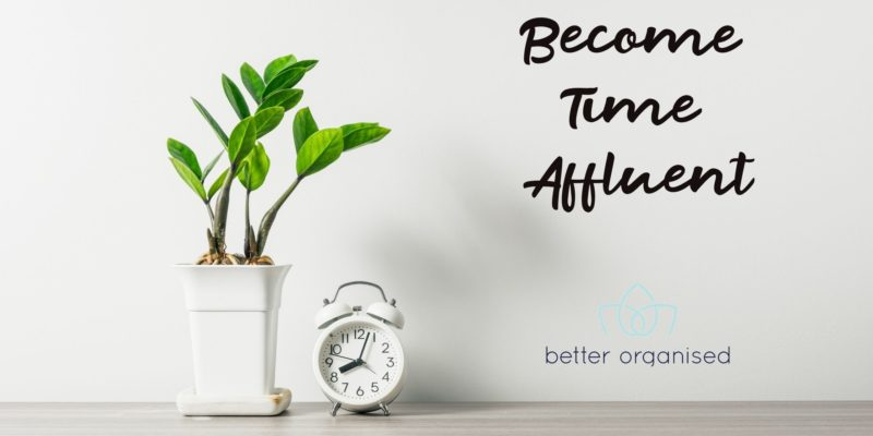 become time affluent